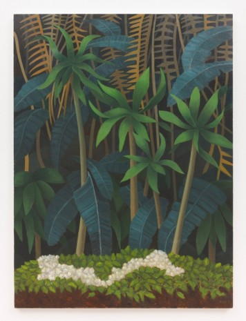 Stephen McKenna, Palms and Leaves, 2013, Kerlin Gallery