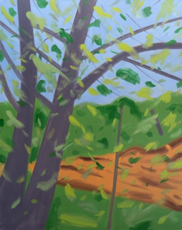 Alex Katz, TWO TREES, 2015, Timothy Taylor