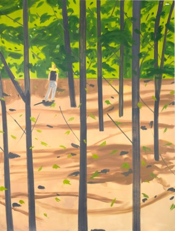 Alex Katz, Figure in the Woods, 2016 , Gavin Brown's enterprise