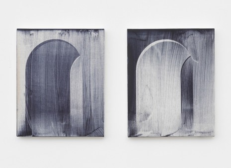 Dean Levin, Untitled (diptych), 2017 , Marianne Boesky Gallery