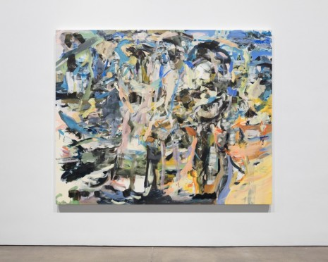 Cecily Brown, Beach Blanket Babylon, 2016-17 , Paula Cooper Gallery