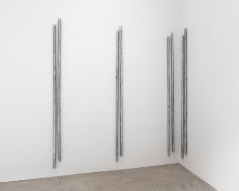 Andrei Koschmieder, Untitled (pipes), 2017, Paula Cooper Gallery