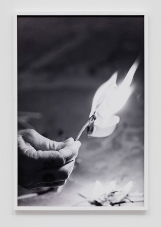 Catherine Opie, Match fire #5 (The Modernist), 2016, Regen Projects