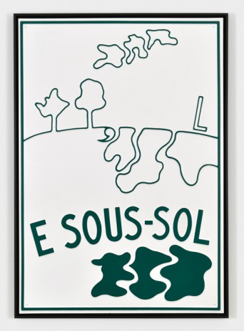 Marcel Broodthaers,  E Sous-Sol, 1969 , Marian Goodman Gallery