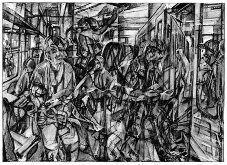 Clive Head, Drawing for the Cherry Train, 2017 , Hollis Taggart
