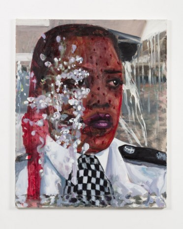 Dawn Mellor, Police Constable Yvonne Hemmingway (Michele Austin), 2016, team (gallery, inc.)