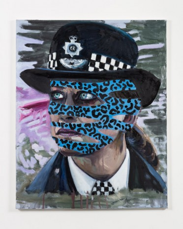 Dawn Mellor, Assistant Commissioner Sharon Franklin (Nicola Walker), 2016, team (gallery, inc.)