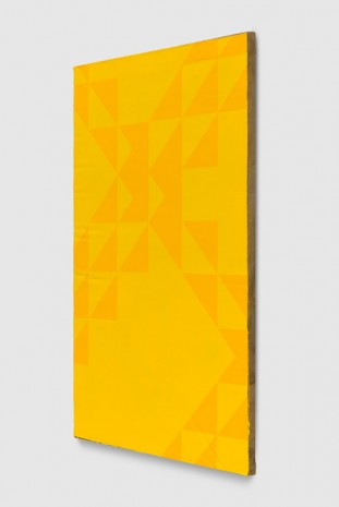 Mark Hagen, To Be Titled (Cadmium Yellow Dark II), 2017, Almine Rech Gallery