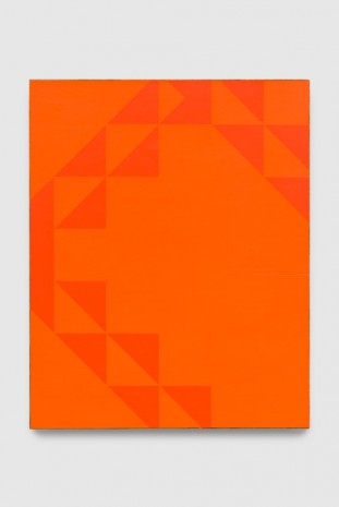 Mark Hagen, To Be Titled (Cadmium Orange II), 2017, Almine Rech Gallery