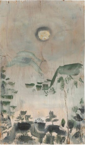 Bill Lynch, No title [Landscape with Moon or Sun], n.d., The Approach