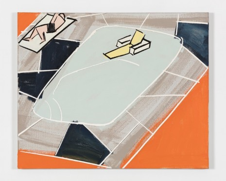 Michael Hurson, Palm Springs Painting #6, 1971 , Paula Cooper Gallery