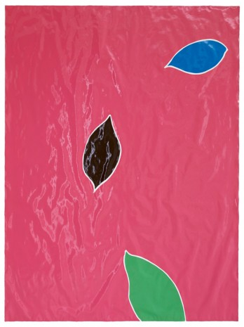 Gary Hume, Three Leaves, 2016-17 , Matthew Marks Gallery