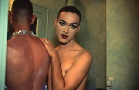 Nan Goldin, Jimmy Paulette and Tabboo! in the bathroom, NYC, 1991 , Matthew Marks Gallery
