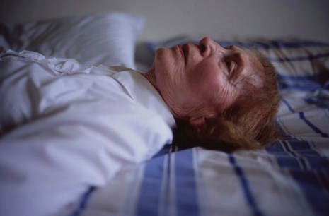 Nan Goldin, My mother laying on her bed, Salem, MA, 2005, Matthew Marks Gallery