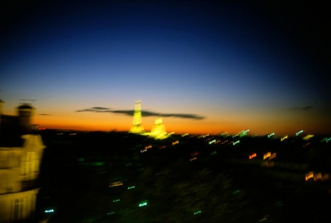 Nan Goldin, Paris skyline, twilight, 1999, Matthew Marks Gallery