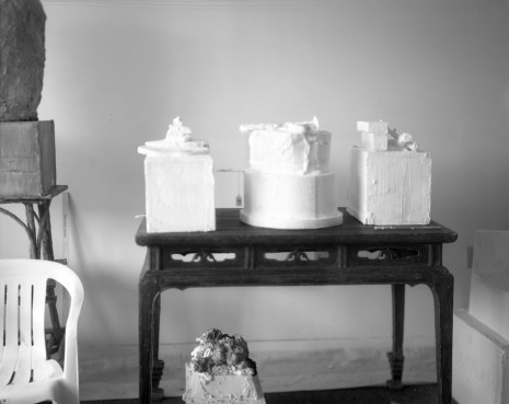 Sally Mann, Remembered Light, Untitled (Three Sculptures on Table), 2005 , Gagosian