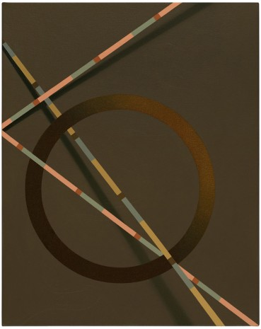 Unno (2017) by Tomma Abts. Acrylic & oil on canvas