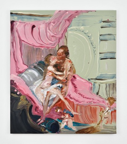 Genieve Figgis, Hercules and omphale (after Boucher), 2018 , Almine Rech