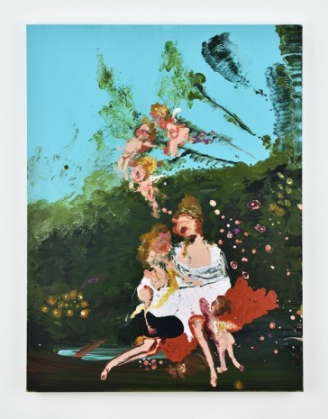 Genieve Figgis, Jupiter and Calisto (Boucher), 2018 , Almine Rech