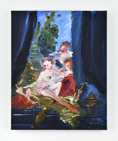 Genieve Figgis, The toilet of Venus (after Boucher), 2018 , Almine Rech