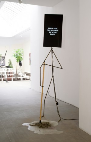 Laure Prouvost, Insecure Metal Man, 2015 , Galerie Nathalie Obadia