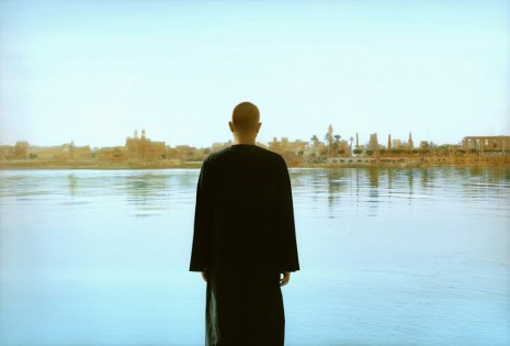 Youssef Nabil, Self-portrait with The Nile, Luxor 2014, 2014, Galerie Nathalie Obadia