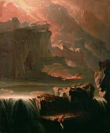 John Martin, Sadak in Search of the Waters of Oblivion, 1812, Hauser & Wirth Somerset