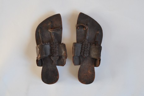Edward Carpenter, Leather sandals, c.1890, Hauser & Wirth Somerset