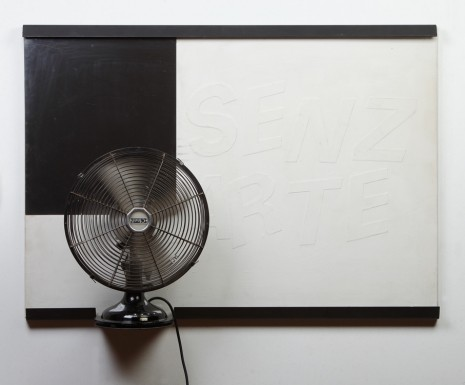 Fabio Mauri, Ventilatore (Senza Arte) (Fan [Without Art]), 1990, Hauser & Wirth