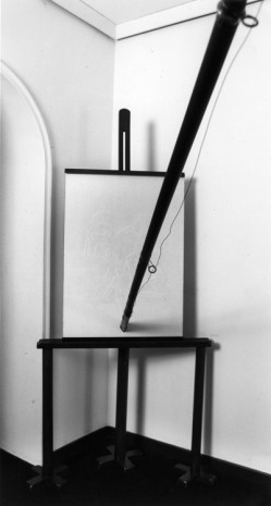 Fabio Mauri, Canna da pesca – verticale (Fishing rod – vertical), 1990 , Hauser & Wirth