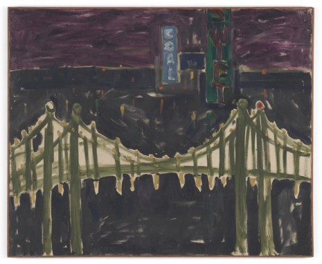 Allan Kaprow, George Washington Bridge, 1955 , Hauser & Wirth
