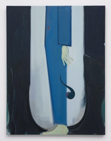 Sanya Kantarovsky, The Man with the Black Coat, 2012, Marc Foxx (closed)
