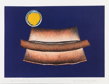 Colin Self, Hot-Dog with Mustard, 2014, The Mayor Gallery