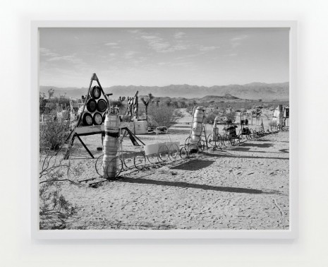 LaToya Ruby Frazier, The Kirby Express 1995 – 96, Untitled 1995, Noah Purifoy Outdoor Desert Art Museum, Joshua Tree, CA, 2016 / 2017 , Gavin Brown's enterprise