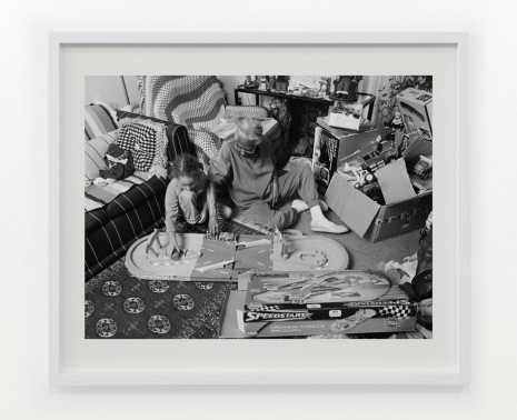 LaToya Ruby Frazier, Grandma Ruby and J.C. Playing with Christmas Toys in Her Living room, 2006 , Gavin Brown's enterprise