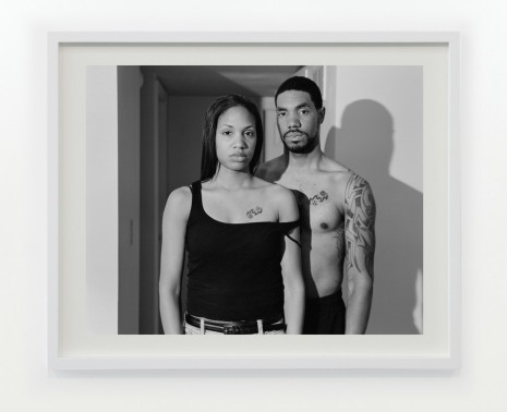 LaToya Ruby Frazier, My Brother Sergeant Brandon Frazier and Me, 2008, Gavin Brown's enterprise