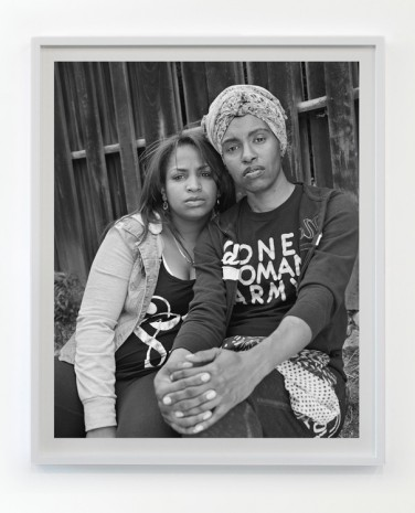 LaToya Ruby Frazier, Shea with her best friend Amber Hasan, a manager, poet, writer, comedian, activist and community organizer, 2016 / 2017 , Gavin Brown's enterprise
