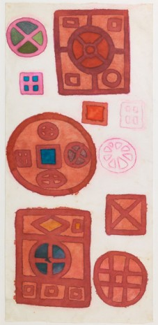 Mira Schendel, Untitled (Mandala Serie), c.1970's, The Mayor Gallery