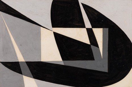 Wifredo Arcay, Macquette 'Composicion Abstracta en Negro', 1950, The Mayor Gallery