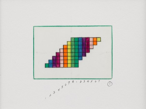 "Channa Horwitz, Sonakinatography ""Colors and Number Book"", 2009, Lisson Gallery"
