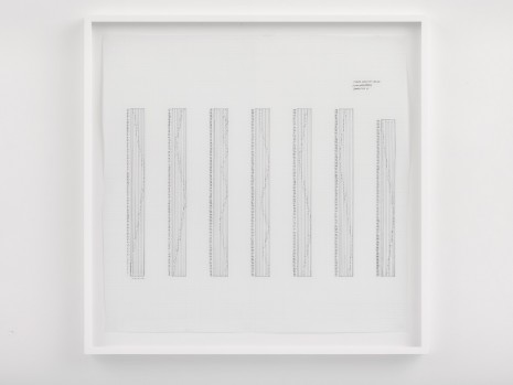 Channa Horwitz, Sonakinatography Composition #15, 1973, Lisson Gallery
