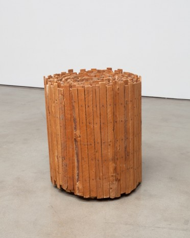 Jackie Winsor, Solid Lattice, 1970, Paula Cooper Gallery