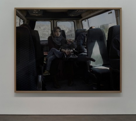 Luc Delahaye , Taxi, 2016 , Galerie Nathalie Obadia