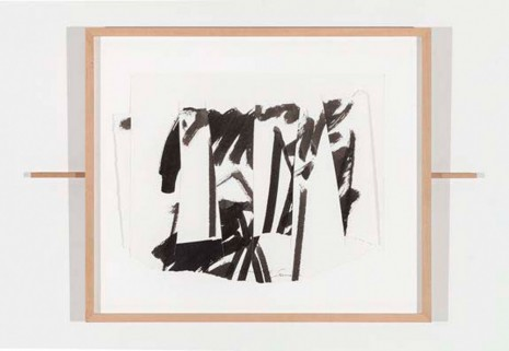 Mark di Suvero, Untitled (double sliding drawing), 2006, Paula Cooper Gallery