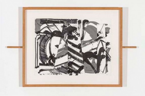 Mark di Suvero, Untitled (sliding drawing), 2014, Paula Cooper Gallery