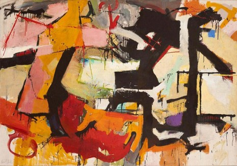 Audrey Flack, Abstract Force: Homage to Franz Kline, 1951–52