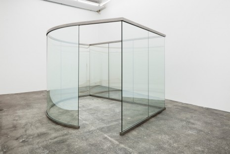 Dan Graham, Time/Space Warp, 2015, Galleri Nicolai Wallner