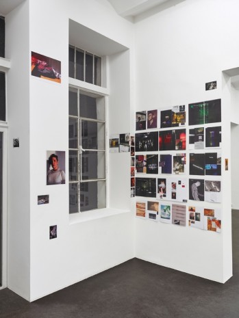 Wolfgang Tillmans Galerie Buchholz magazine pages from