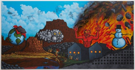 David Wojnarowicz, Earth, Wind, Fire, and Water, 1986 , Galerie Buchholz