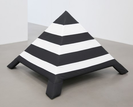 Cosima von Bonin, Installational elements: Pyramid, 2018 , Petzel Gallery